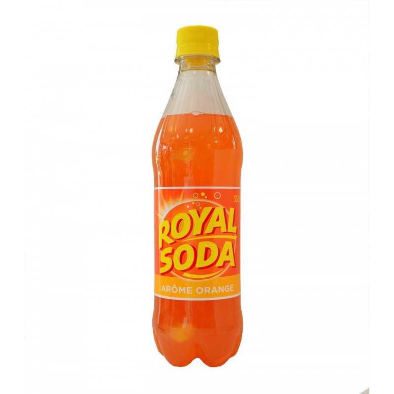 Limonade Royal Soda - Orange 50 cl