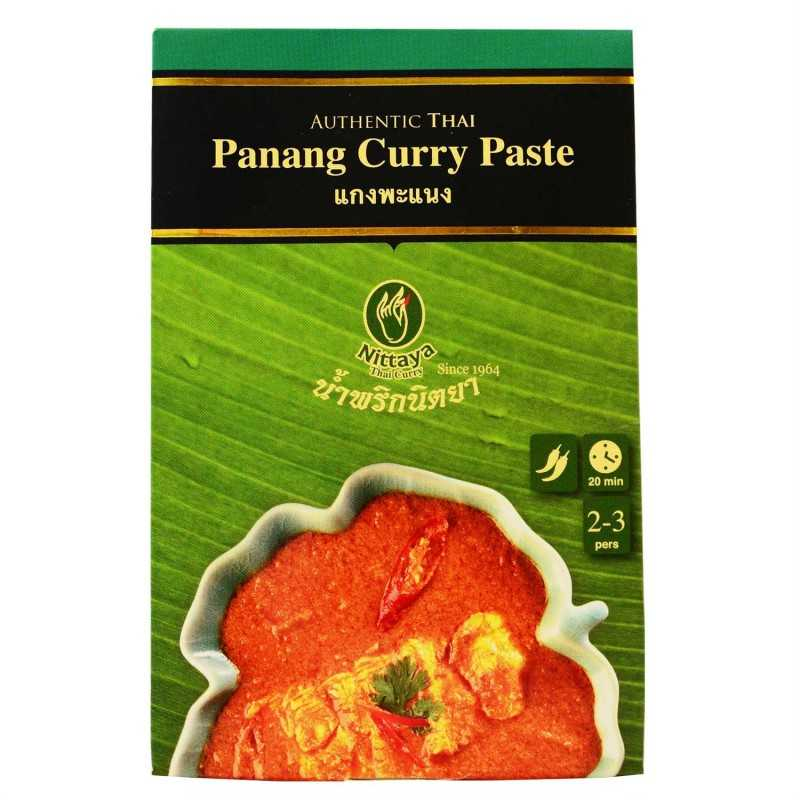 Pâte de Curry Panang - Nittaya 50g