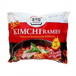 Kimchi Ramen - Nouilles au Kimchi grillé - Jongga - 122 g