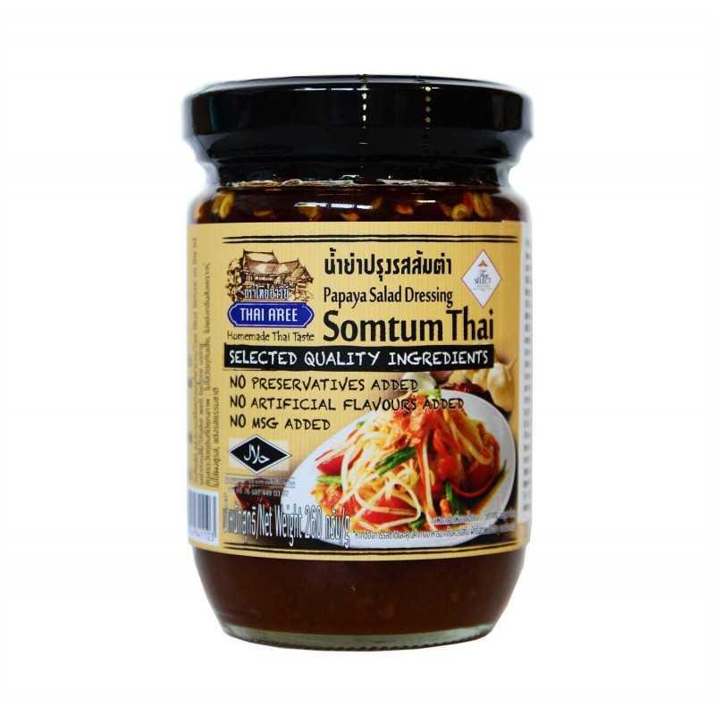 Somtum - Sauce pour salade de papaye - Thai Aree 260g