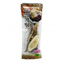 Mélange d'ingrédients pour Samgyetang