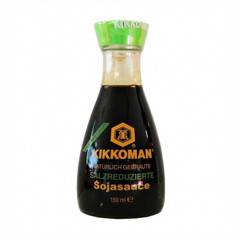 Sauce soja Japonaise Kikoman moins de sel - 150ml