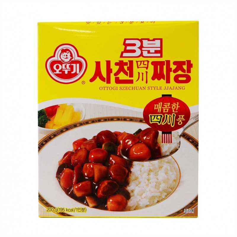 Sauce Jjajang Szechuan Style (piquant) - Ottogi 200g