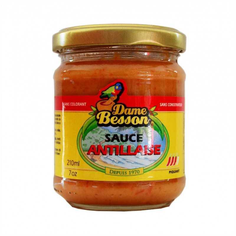 Sauce antillaise - Dame Besson - 210 ml