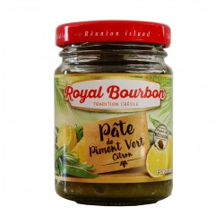 Pâte de piment vert citron - Royal Bourbon 90g