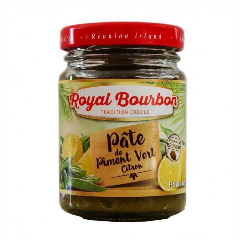 Pâte de piment vert citron - Royal Bourbon 90g