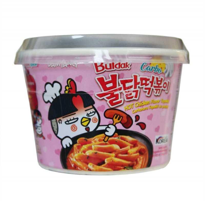 Buldak Tteokbokki sauce carbonara - Samyang 179 g