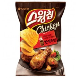 Chips Croustillantes Saveur Sauce Soja pour poulet - Orion 60g