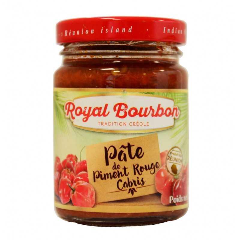 Pâte de piment rouge cabri - Royal Bourbon 90g