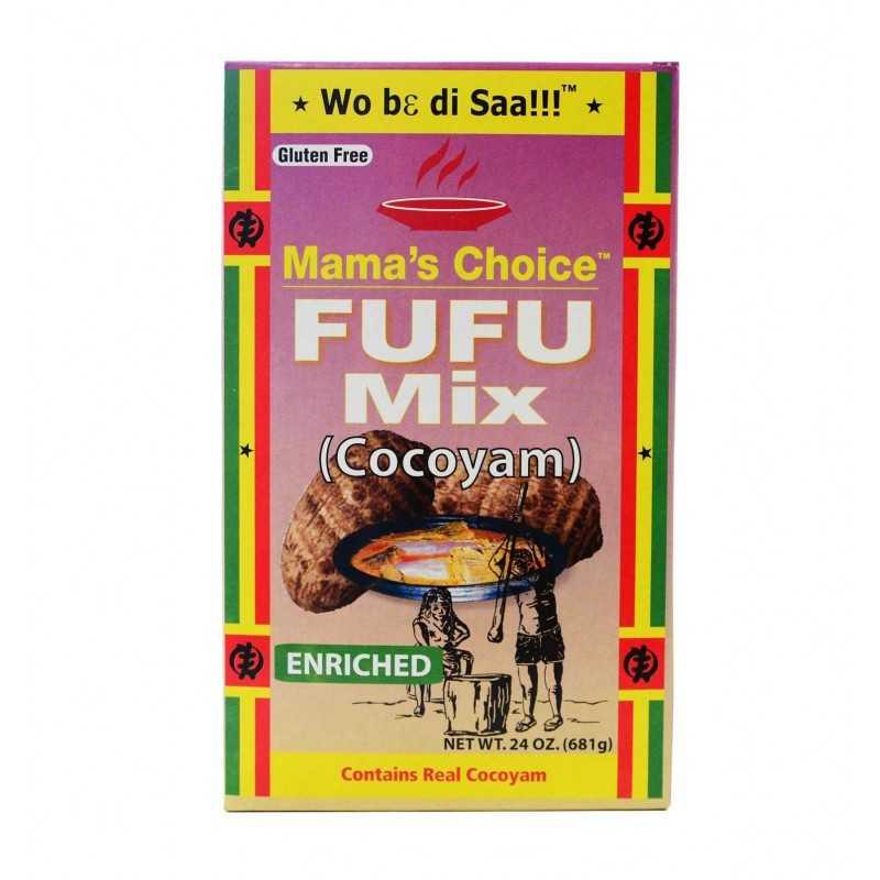Fufu Mix Cocoyam - 681g - Mama's Choice