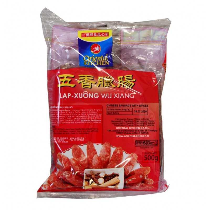 Saucisses au cinq épices- Oriental Kitchen - 500g