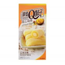 Mochis roulé à la mangue et au lait - 150g - 5 pièces