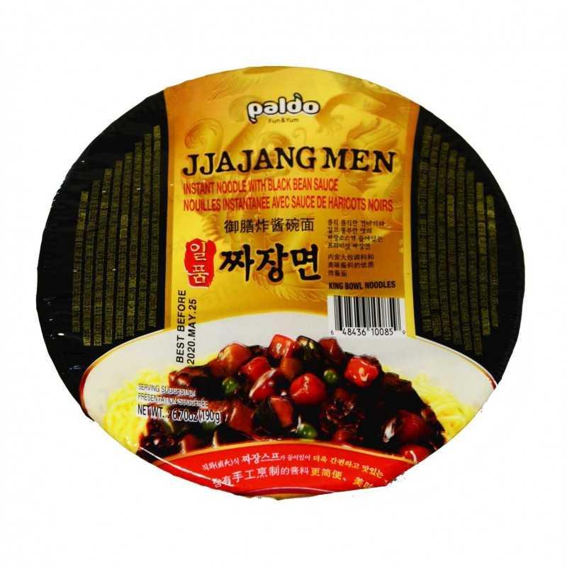 Nouilles Instantanée avec sauce de haricots noirs JJAJANGMEN 190g