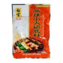 Épices pour fondue Chinoise saveur piquante - Baijia 200g