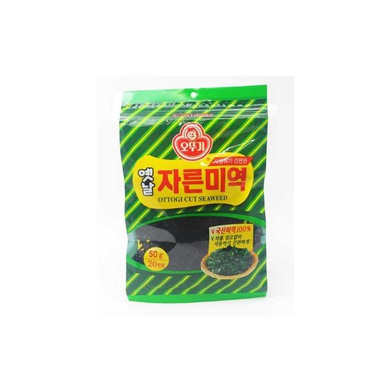 Algues Séchées prédécoupé - MIYEOK (Wakame) - Ottogi 50g