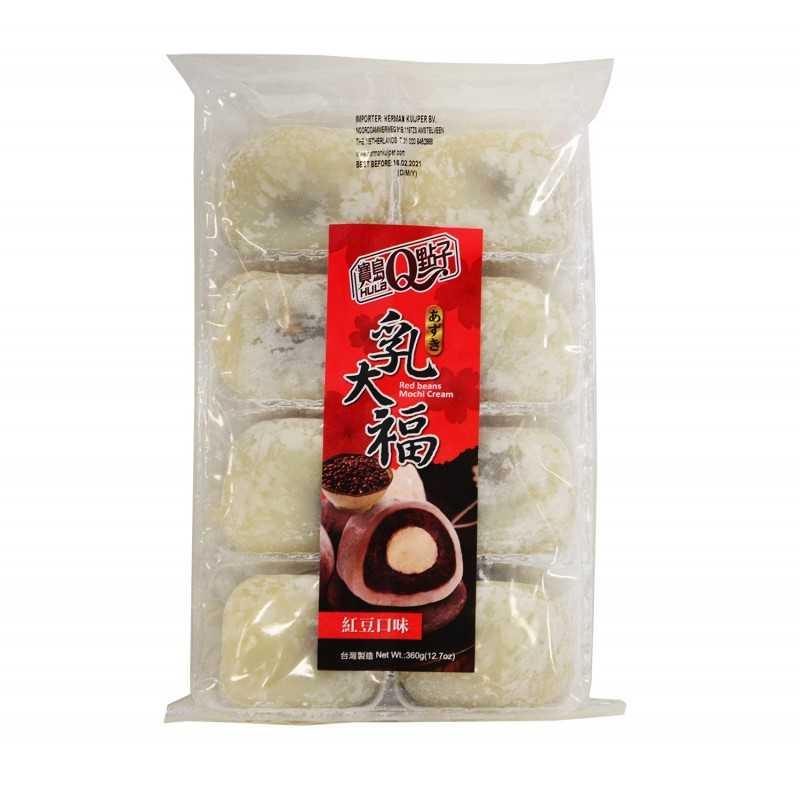 Mochis Haricots rouges et crême - Taiwan dessert 360g