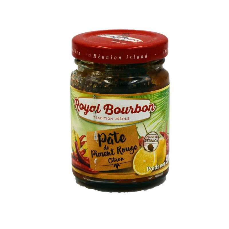 Pâte de Piment rouge saveur citron - Royal Bourbon - 90g