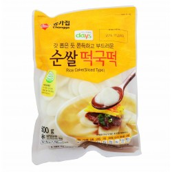 TTOEK SLICED - Gâteau de riz Coréen tranches - 500g