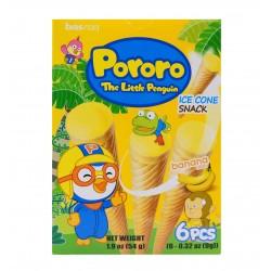 Pororo Ice Cone Snack Goût Banane - Basraq