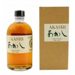 Whisky Saké Cask - Vieillis 3 ans - AKASHI - 50cl