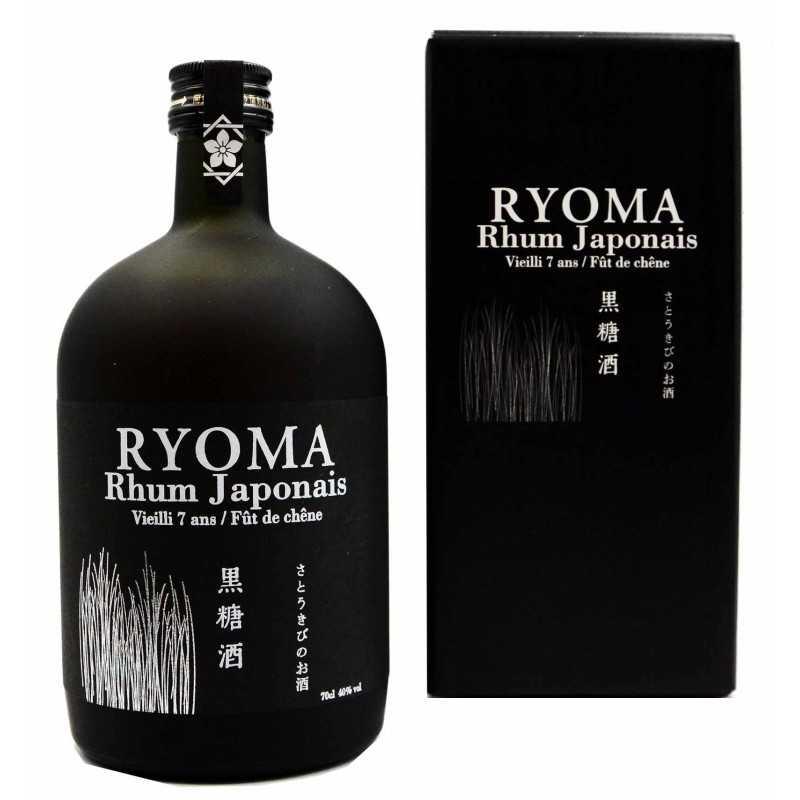 Rhum RYOMA - Vieilli 7 ans - Fût de chêne