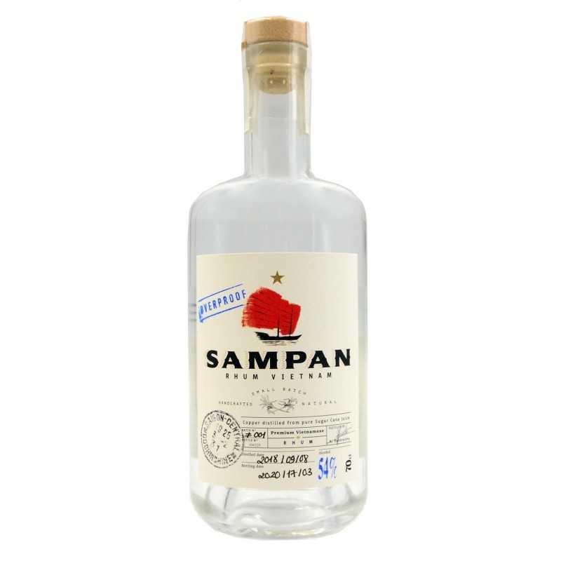 Rhum SAMPAN Vietnam - 54% - 70cl