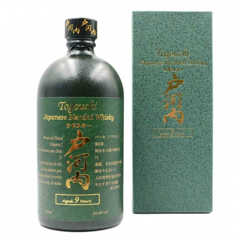 Whisky 9 ans - TOGOUCHI - 70cl