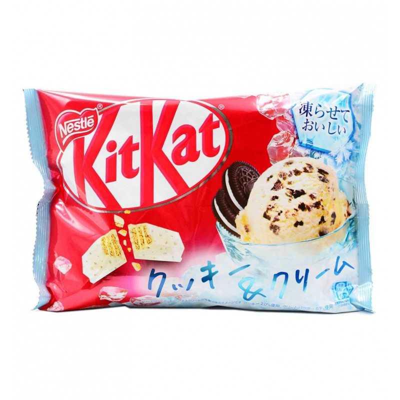 KitKat Cookie et crème - Nestlé - 150.8 g
