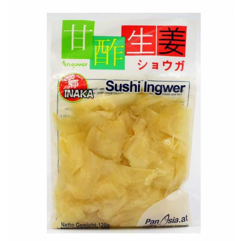 Gingembre à sushi blanc - inaka 85g