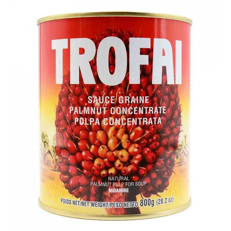 Crème de palme - Sauce graine - TROFAI - 800gr