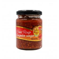 Pâte de piment rouge gingembre mangue - Soleil Réunion 90 g
