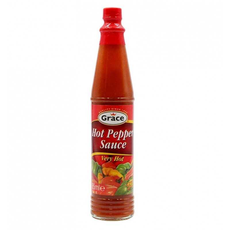 Very Hot Pepper Sauce - Grace - 85ml