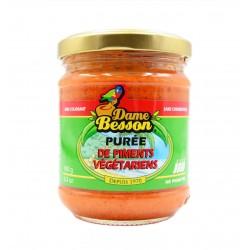 Purée de piments végétariens - Dame Besson 180g