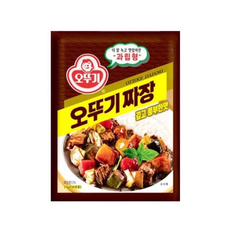 Poudre de haricots noir Jajang -Ottogi 100g