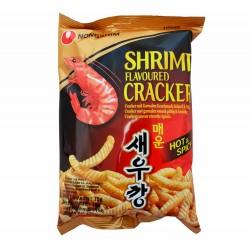 Crakers Saveur Crevettes (HOT) - NONGSHIM 75g