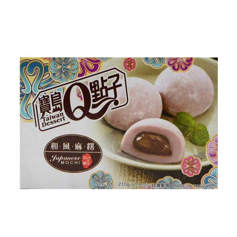 Mochis au Taro - Taiwan Dessert 210g (6 pièces) - DLUO DÉPASSÉE