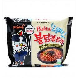 Buldak Bokkeum Myeon LIGHT : Nouilles Piquantes au Poulet - Samyang 110g - Halal