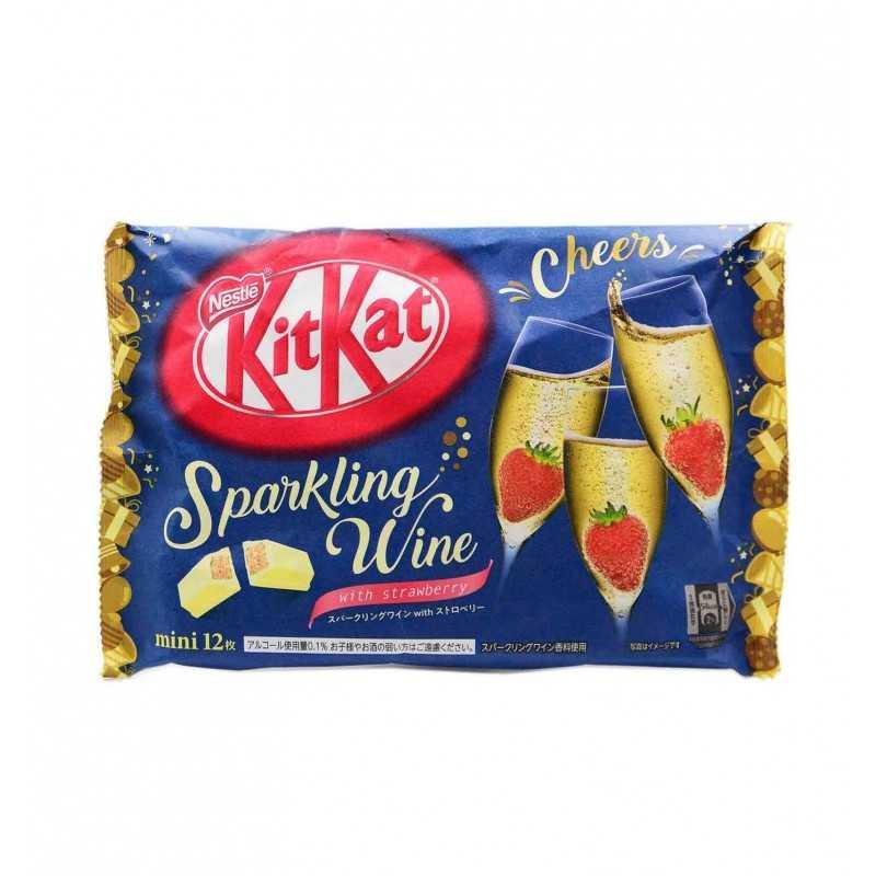 KitKat Vin Pétillant et Fraise - Nestlé 118.8g