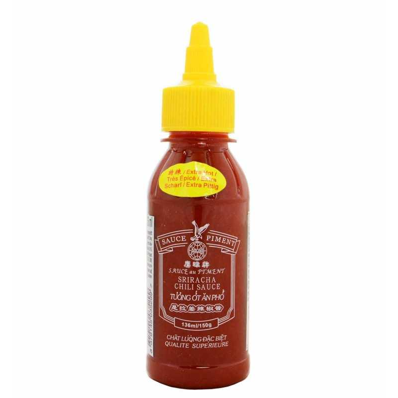 SRIRACHA Chili sauce : Sauce aux piments - 136mL