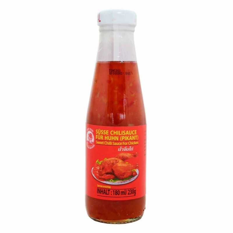 SWEET CHILI SAUCE - Pour poulet - ROYAL THAI - 190 mL