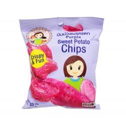 Chips de Patates Violettes...