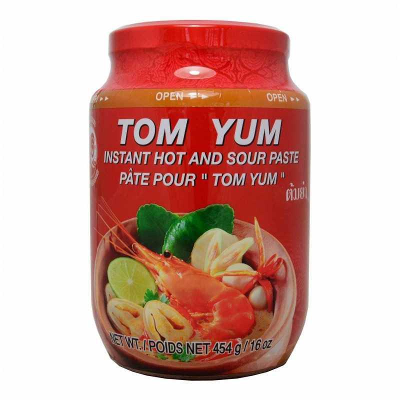 TOM YUM PASTE : Pâte pour préparation de soupe TOM YUM - 454g