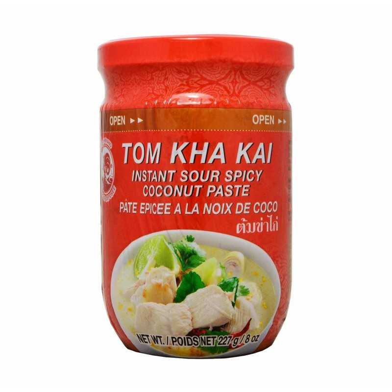 TOM KHA KAI Paste : Pâte pour soupe KOM KHA - 227g