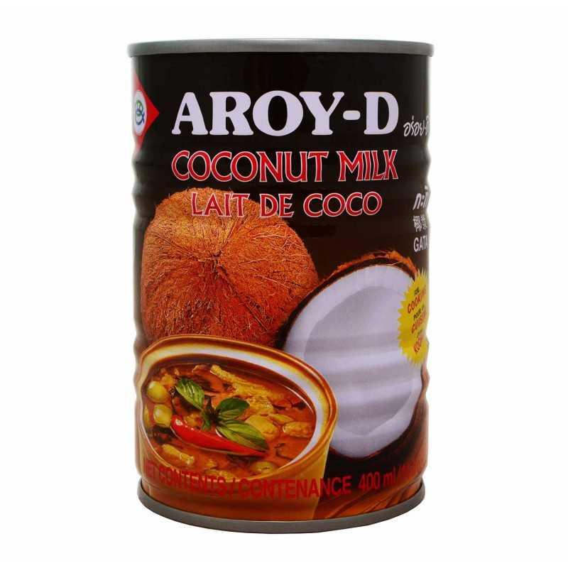 LAIT DE COCO pour cuisson - AROY-D - 400ml
