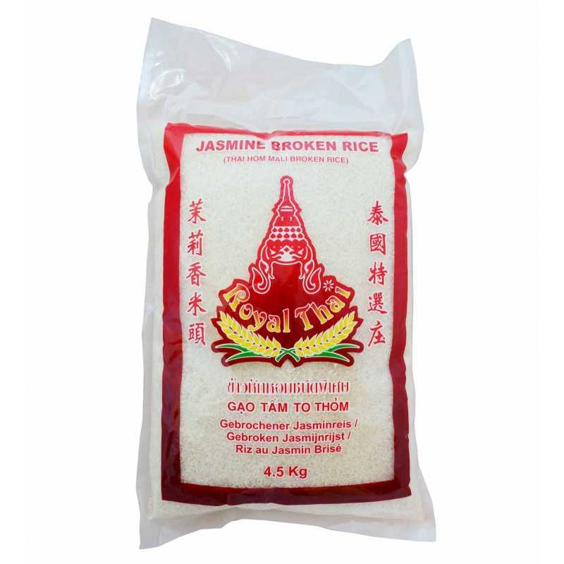 RIZ JASMIN Thaïlandais - Long grain - Royal Thaï - 4.5Kg