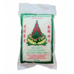 RIZ JASMIN Thaïlandais - Long grain - Royal Thaï - 4.5Kg