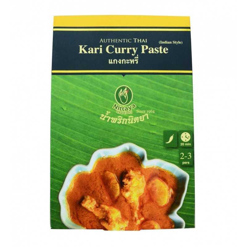 Pâte Cari Curry styke indien - 50g