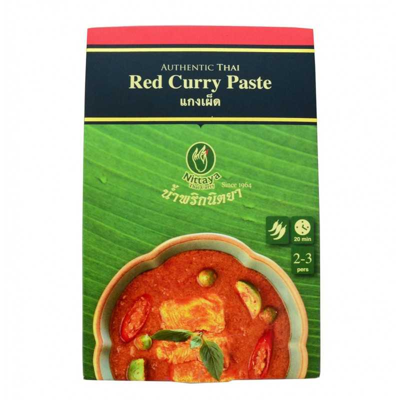 Pâte de Curry Rouge - 50g