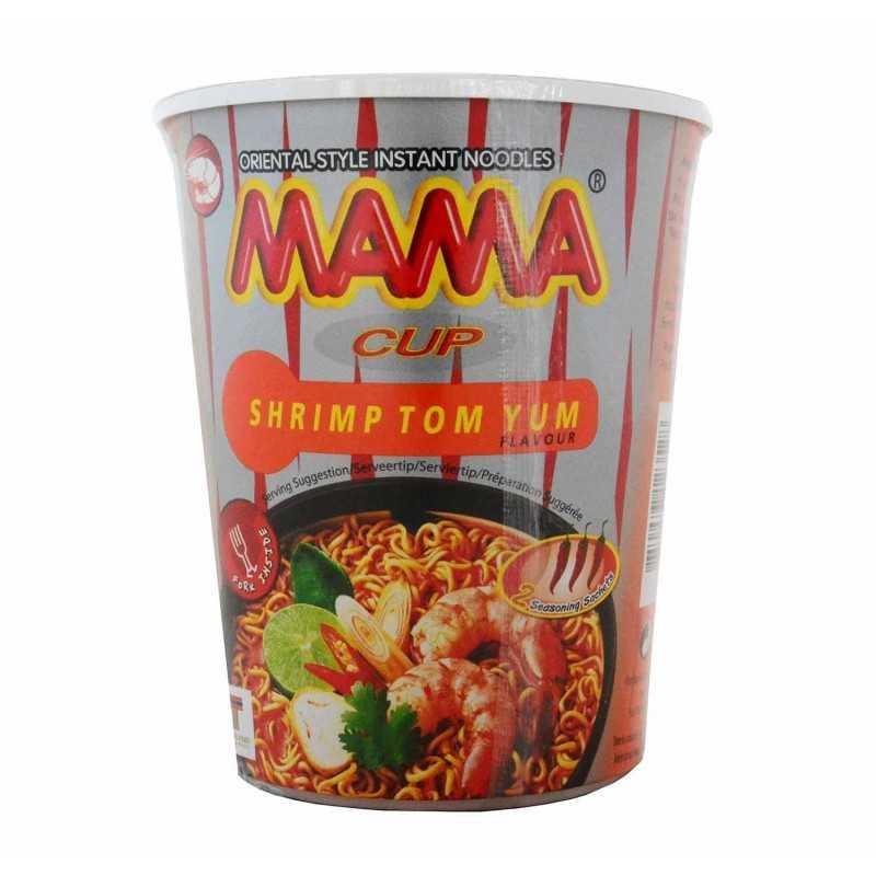 Nouilles intantanée aux crevettes - MAMA cup Shrimp tom yum - 70g