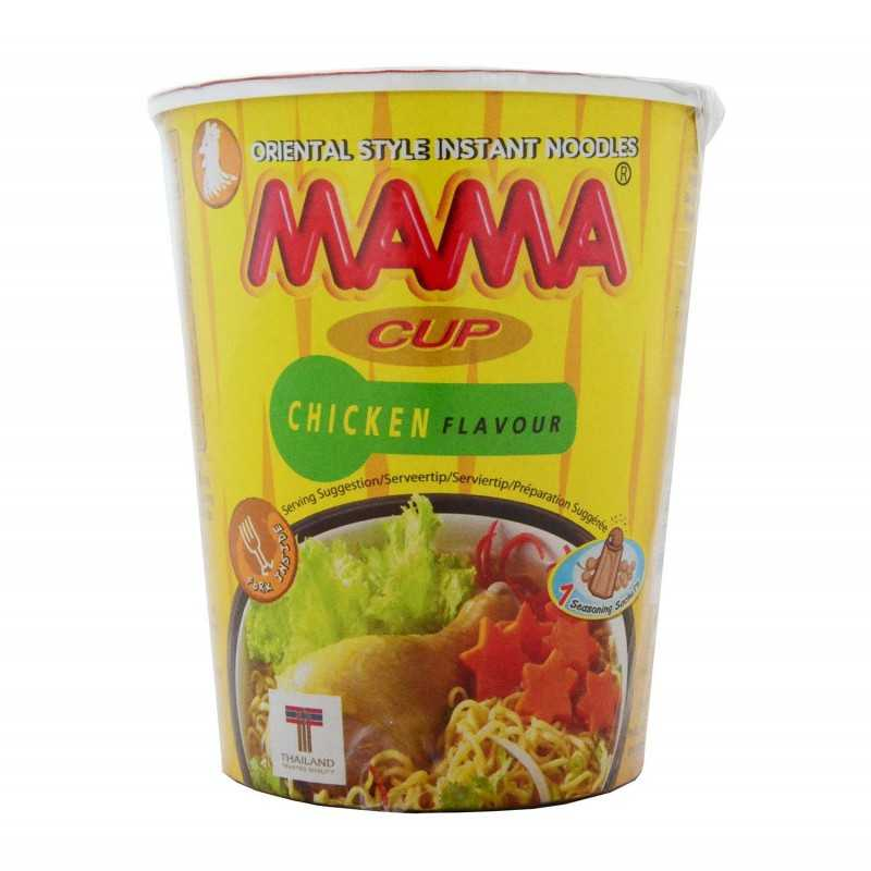 Nouilles intantanée aux poulet - MAMA cup chicken flavor- 70g